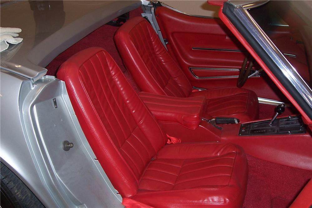 1968 CHEVROLET CORVETTE CONVERTIBLE - Interior - 112741
