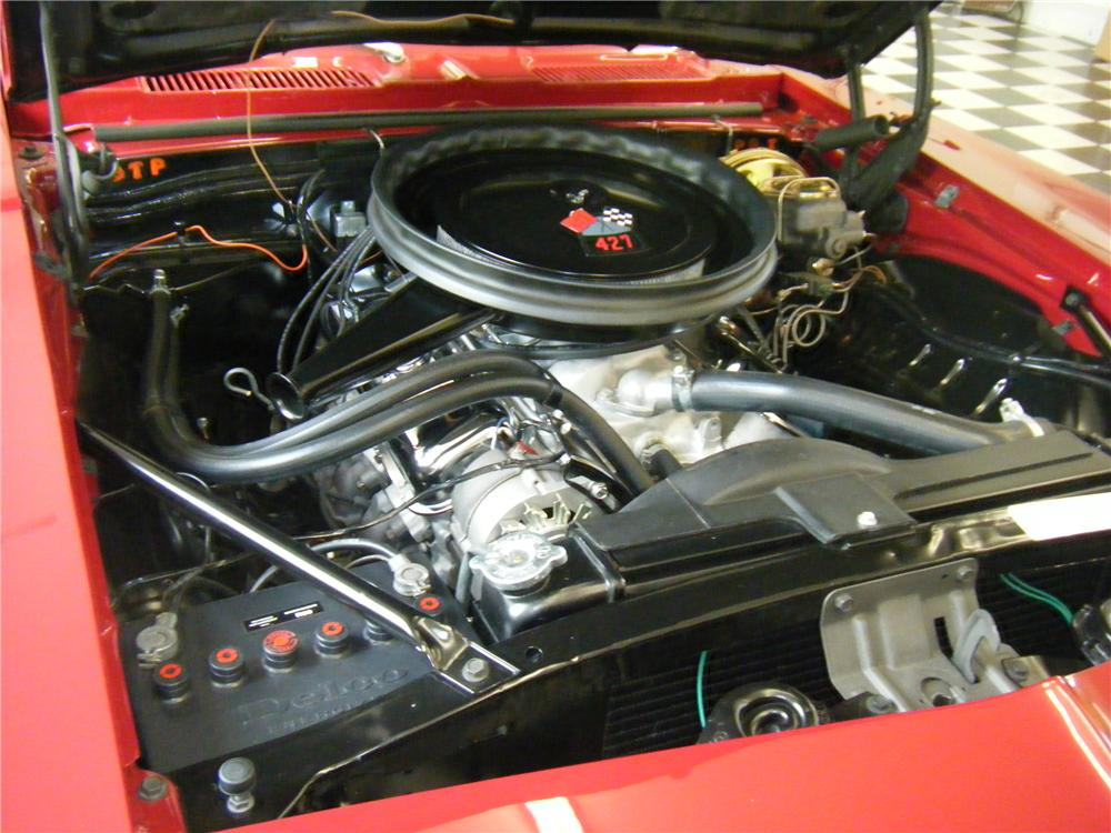 1969 CHEVROLET CAMARO COUPE - Engine - 112743