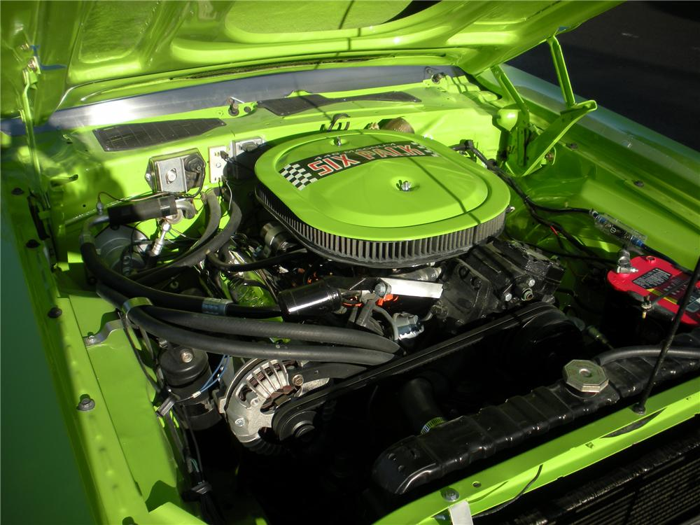 1970 DODGE CHALLENGER CUSTOM COUPE - Engine - 112747