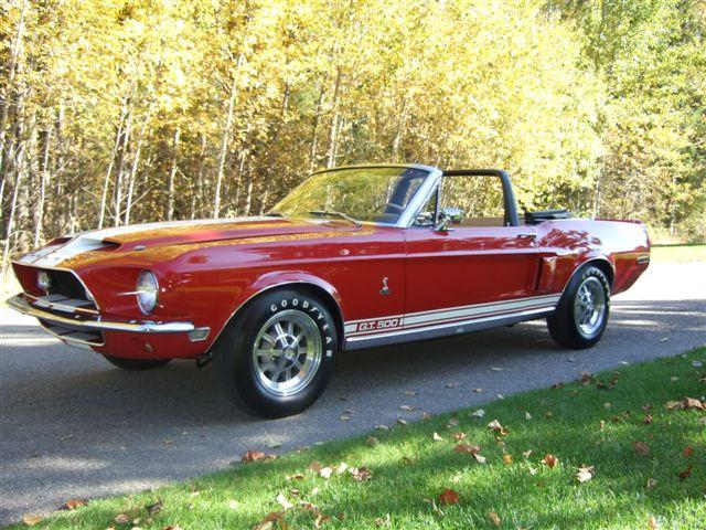 1968 SHELBY GT500 CONVERTIBLE - Side Profile - 112749