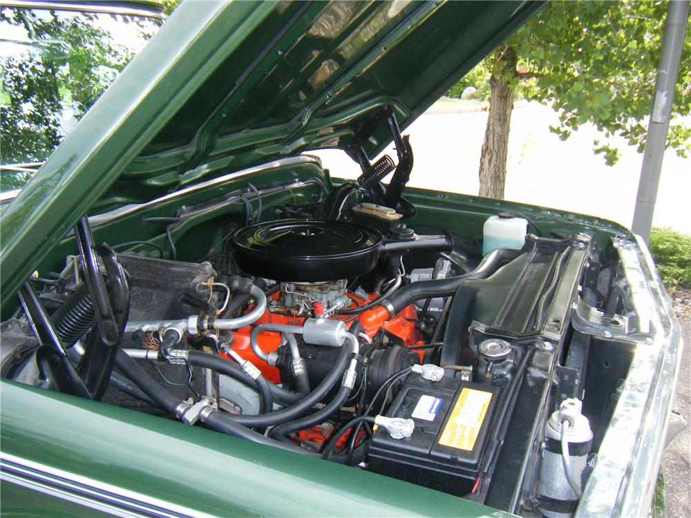 1970 CHEVROLET C-10 FLEETSIDE SHORTBOX PICKUP - Engine - 112751