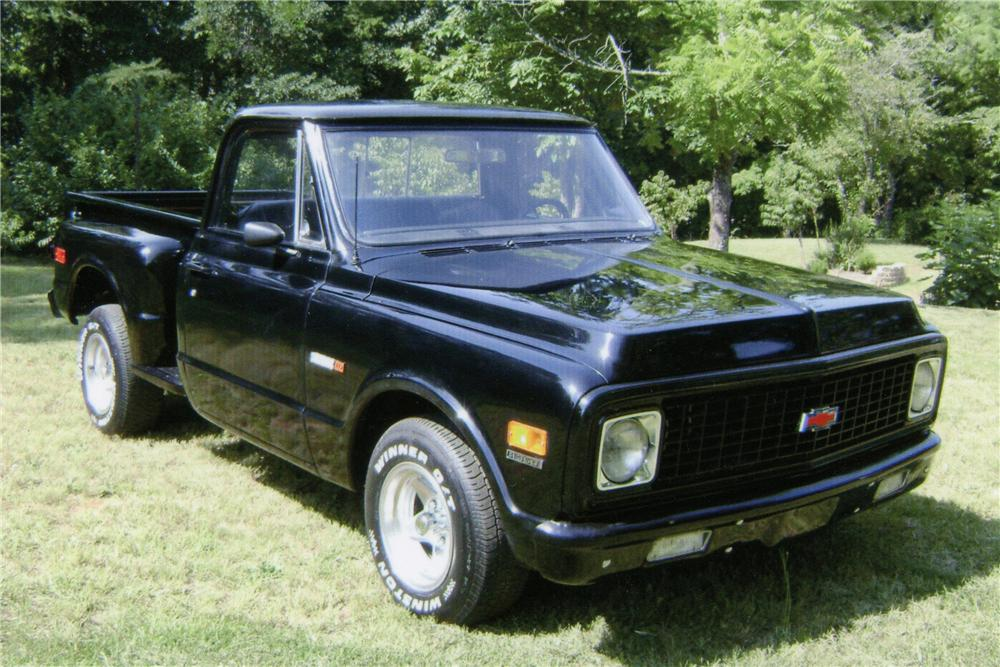 1971 CHEVROLET C-10 PICKUP - Front 3/4 - 112754