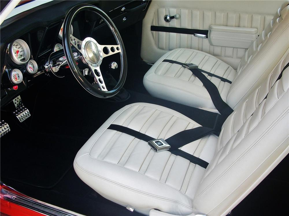 1969 CHEVROLET CAMARO CUSTOM COUPE - Interior - 112756