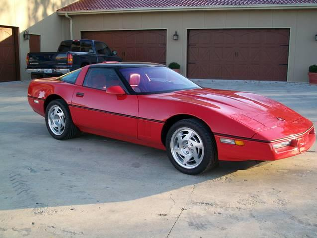1990 CHEVROLET CORVETTE ZR1 2 DOOR COUPE - Front 3/4 - 112760