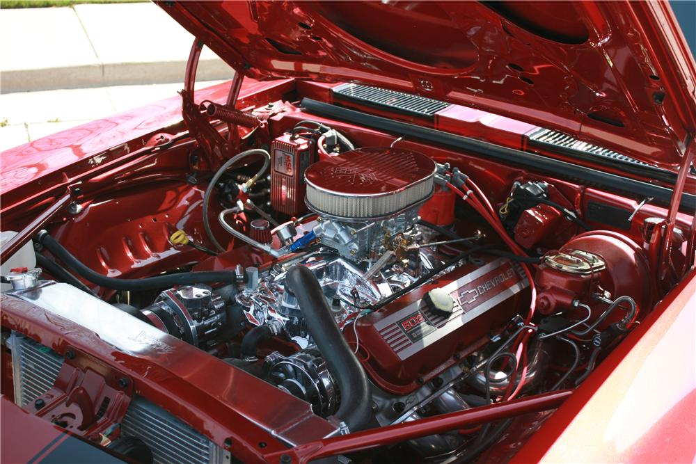1969 CHEVROLET CAMARO CUSTOM 2 DOOR COUPE - Engine - 112764