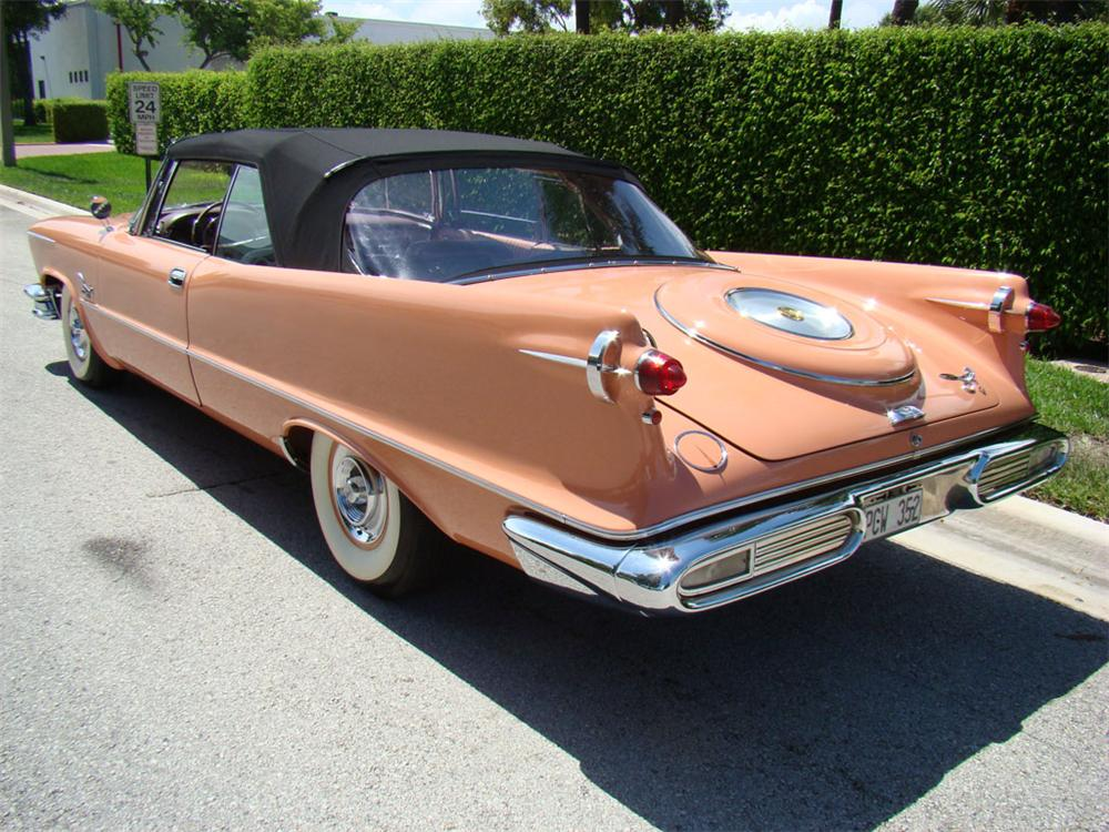 2017 Chrysler Imperial Price >> 1957 CHRYSLER IMPERIAL CROWN CONVERTIBLE - 112766