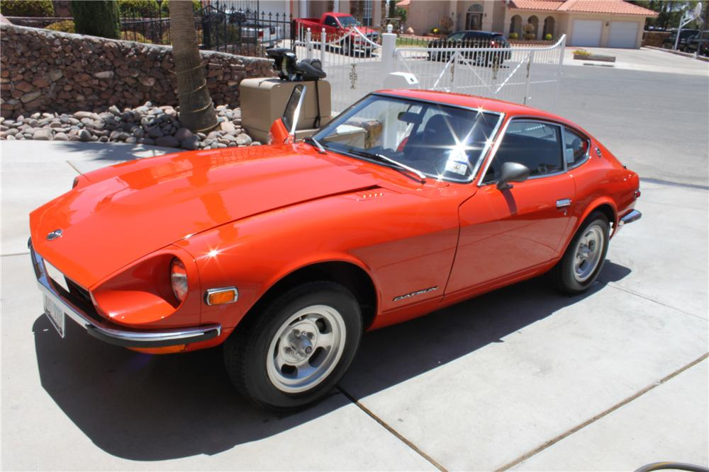 1972 DATSUN 240Z 2 DOOR COUPE - Front 3/4 - 112770