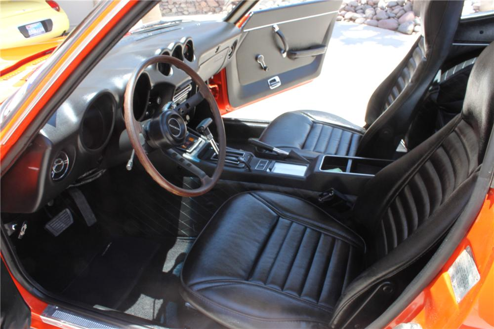 1972 DATSUN 240Z 2 DOOR COUPE - Interior - 112770
