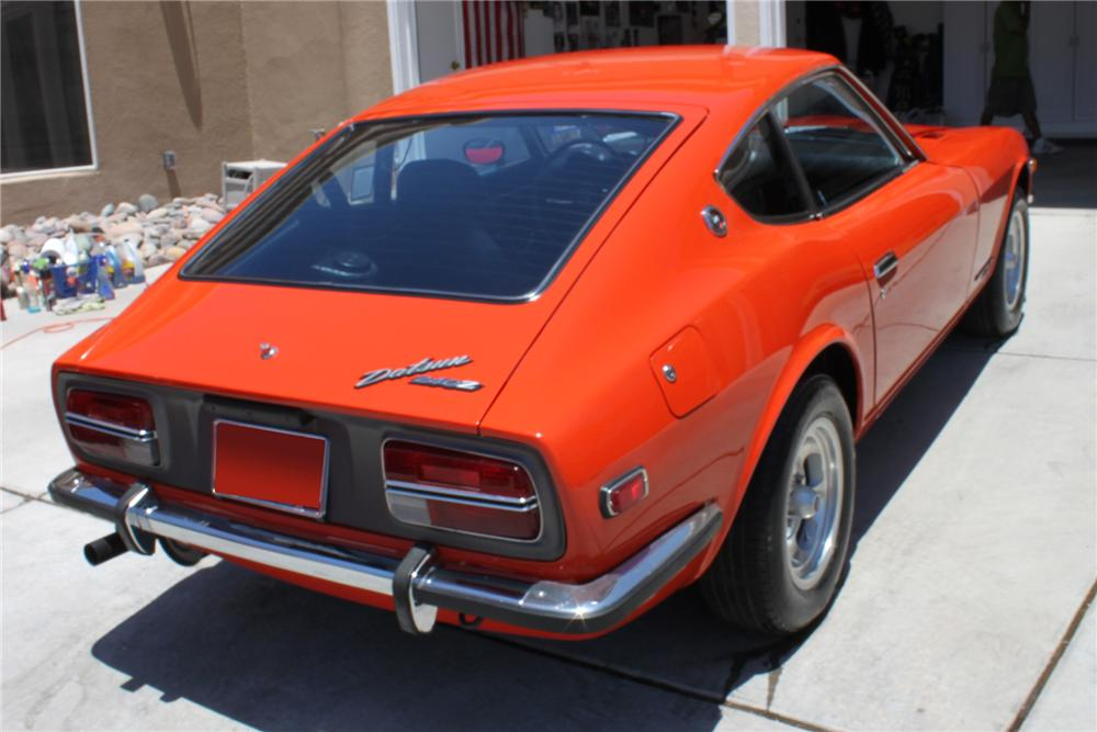 1972 DATSUN 240Z 2 DOOR COUPE - Rear 3/4 - 112770