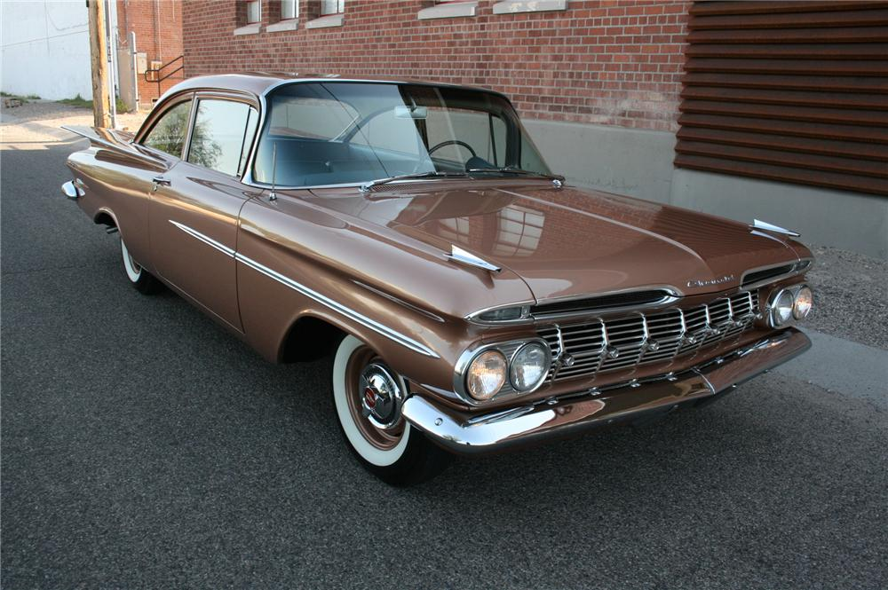 1959 chevrolet biscayne 2 door sedan