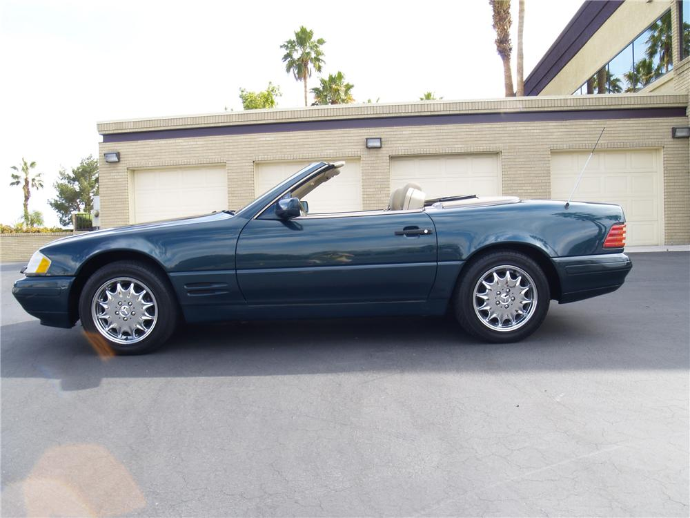 1998 MERCEDES-BENZ SL500 ROADSTER - Front 3/4 - 112772