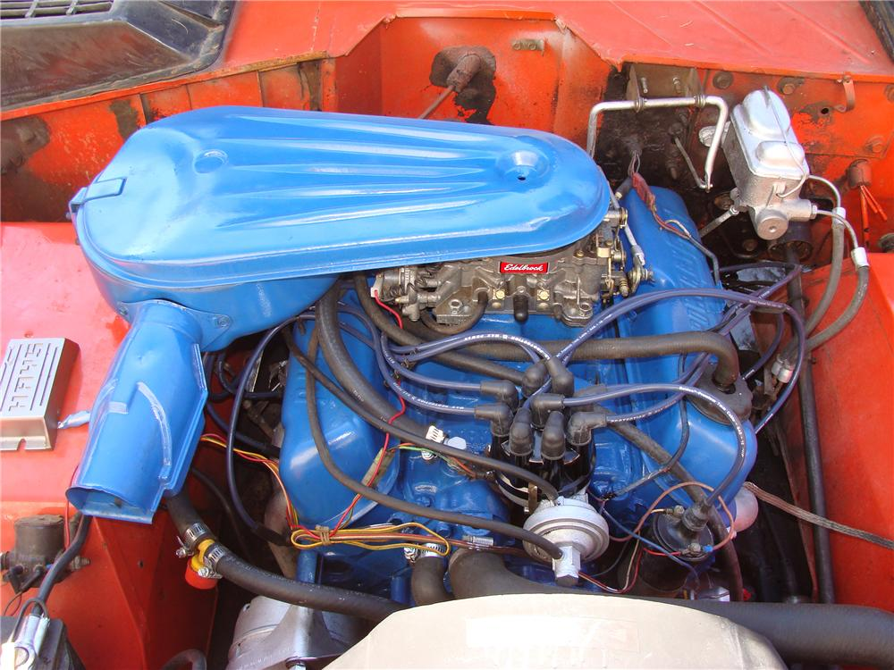 1971 FORD BRONCO STROPPE EDITION - Engine - 112776