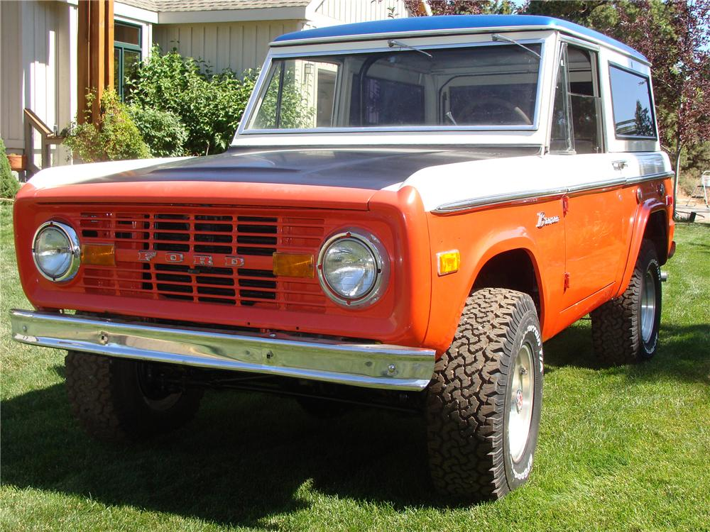 1971 FORD BRONCO STROPPE EDITION - Front 3/4 - 112776
