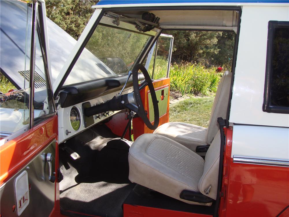 1971 FORD BRONCO STROPPE EDITION - Interior - 112776