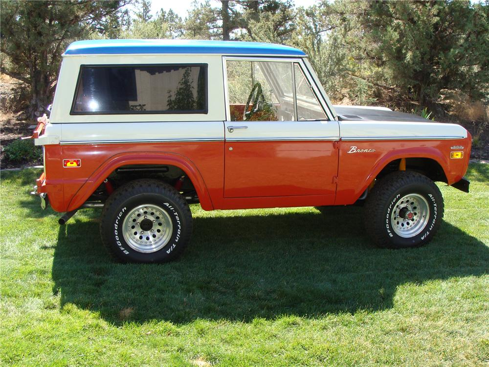 1971 FORD BRONCO STROPPE EDITION - 112776