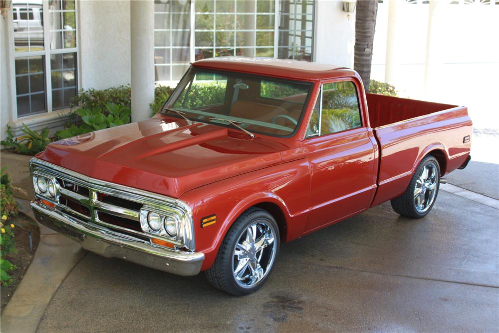 1972 GMC CUSTOM PICKUP - Front 3/4 - 112778
