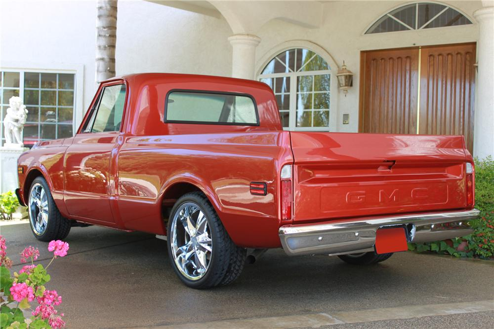 1972 GMC CUSTOM PICKUP - Rear 3/4 - 112778