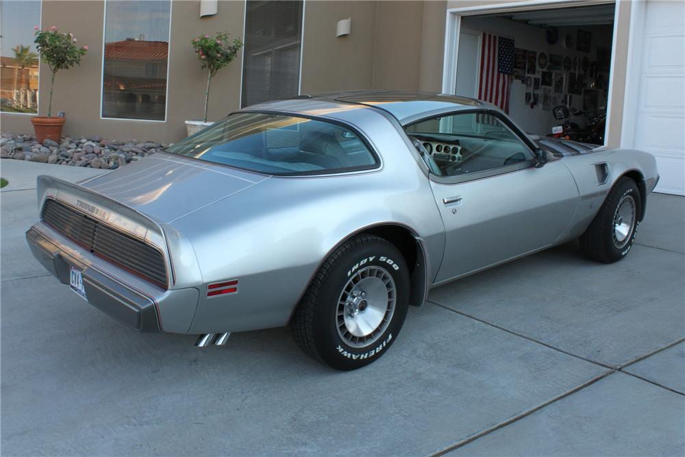 1979 PONTIAC TRANS AM 2 DOOR COUPE - Rear 3/4 - 112779