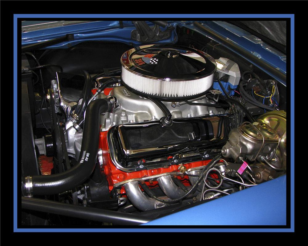 1967 CHEVROLET CAMARO CUSTOM 2 DOOR COUPE - Engine - 112781