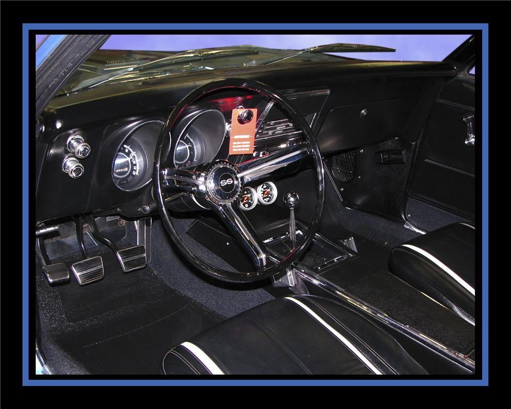 1967 CHEVROLET CAMARO CUSTOM 2 DOOR COUPE - Interior - 112781