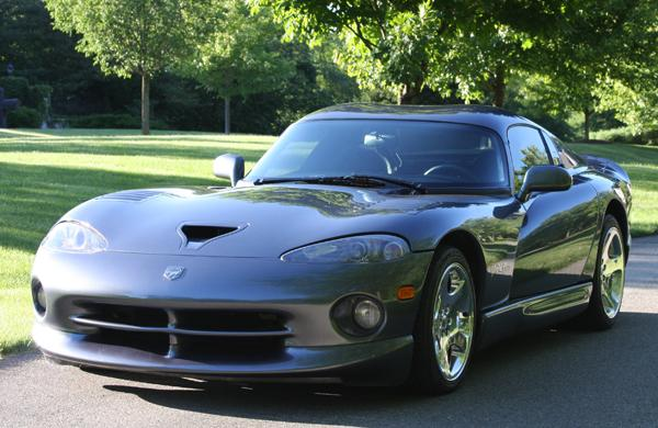 2000 DODGE VIPER GTS 2 DOOR COUPE - Front 3/4 - 112787