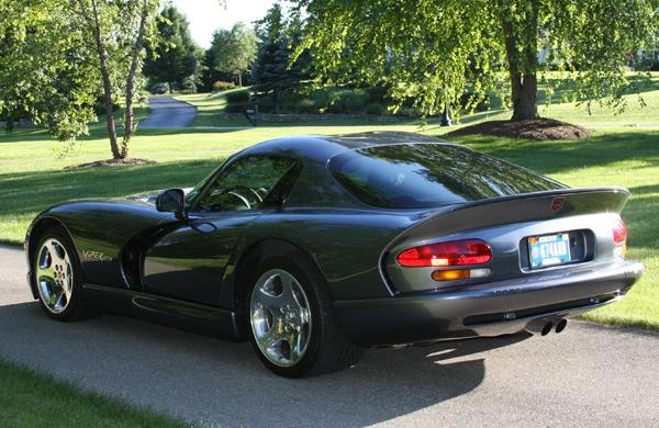 2000 DODGE VIPER GTS 2 DOOR COUPE - Rear 3/4 - 112787