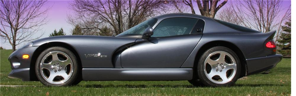 2000 DODGE VIPER GTS 2 DOOR COUPE - Side Profile - 112787
