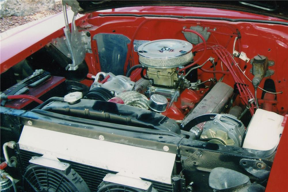1957 CHEVROLET BEL AIR CUSTOM CONVERTIBLE - Engine - 112790