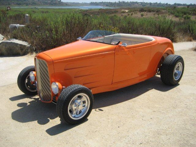 1932 FORD HI-BOY CUSTOM ROADSTER - Front 3/4 - 112792