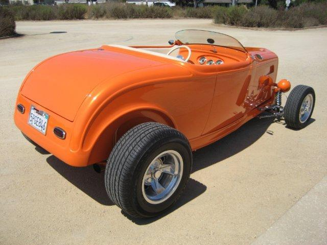1932 FORD HI-BOY CUSTOM ROADSTER - Rear 3/4 - 112792