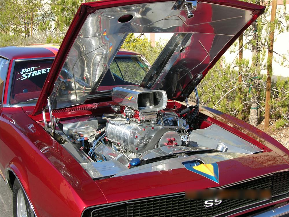 1968 CHEVROLET CAMARO CUSTOM 2 DOOR COUPE - Engine - 112794