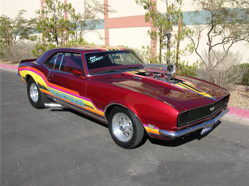1968 Chevrolet Camaro Custom 2 Door Coupe 112794