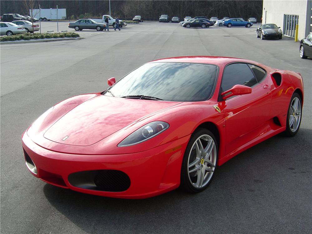 2005 FERRARI F430 BERLINETTA 2 DOOR COUPE - Front 3/4 - 112810