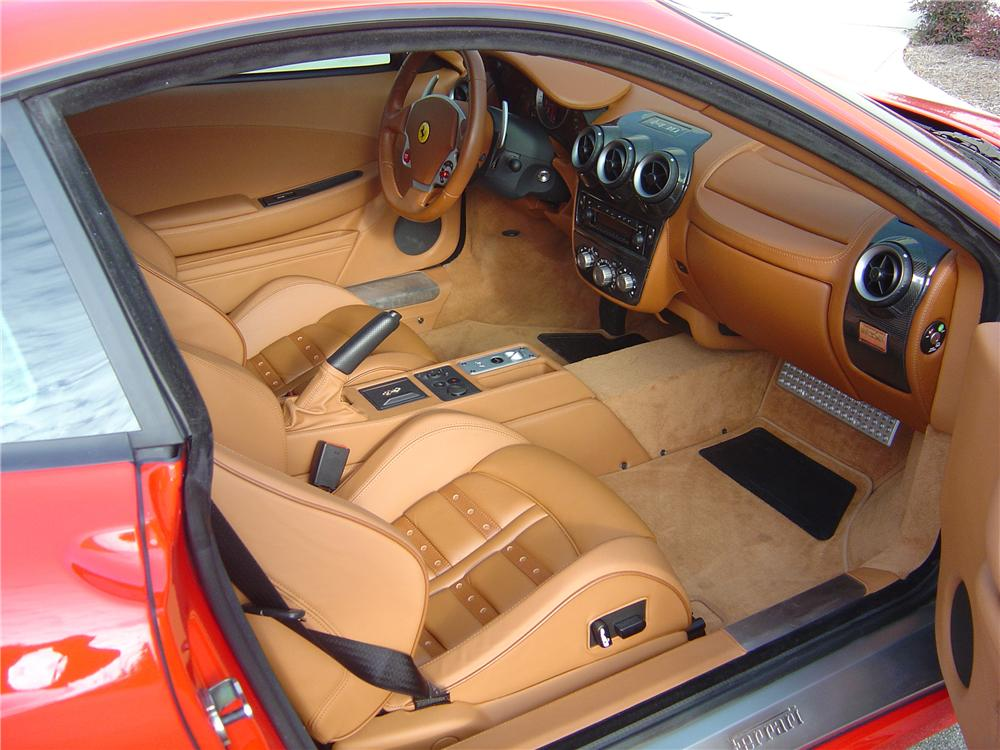 2005 FERRARI F430 BERLINETTA 2 DOOR COUPE - Interior - 112810