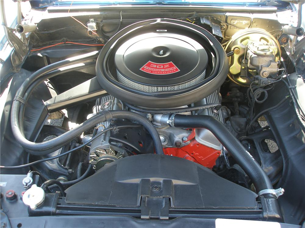 1969 CHEVROLET CAMARO COUPE - Engine - 112814