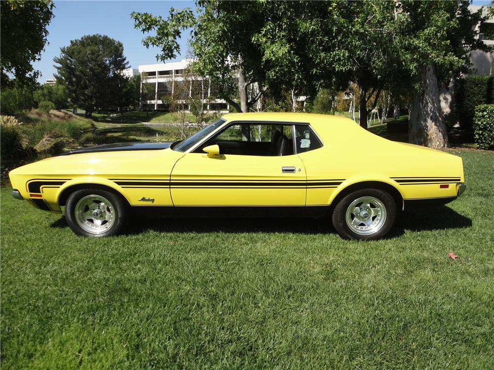 1971 FORD MUSTANG COUPE - 112817