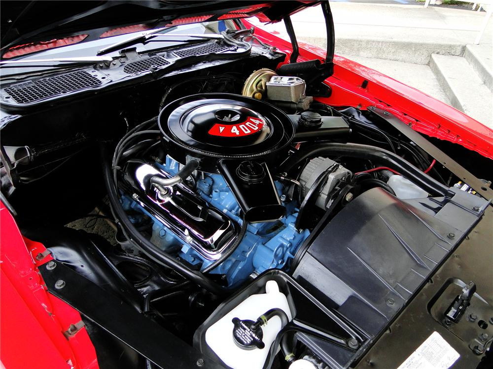 1974 PONTIAC FIREBIRD FORMULA 2 DOOR COUPE - Engine - 112820