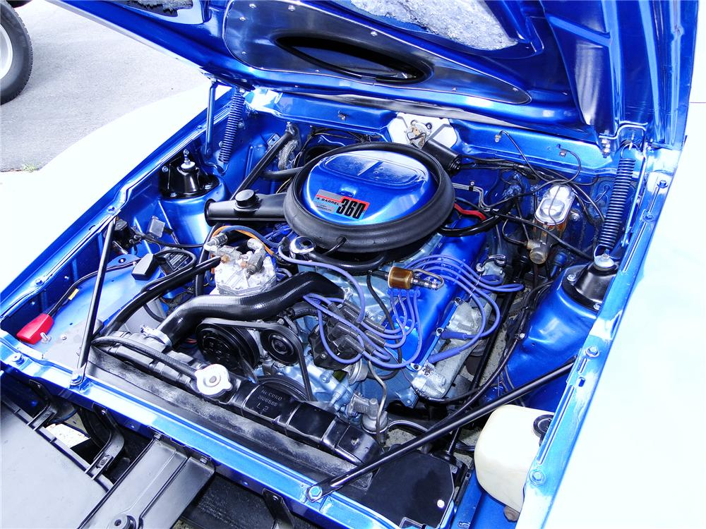 1971 AMERICAN MOTORS AMX 2 DOOR COUPE - Engine - 112822