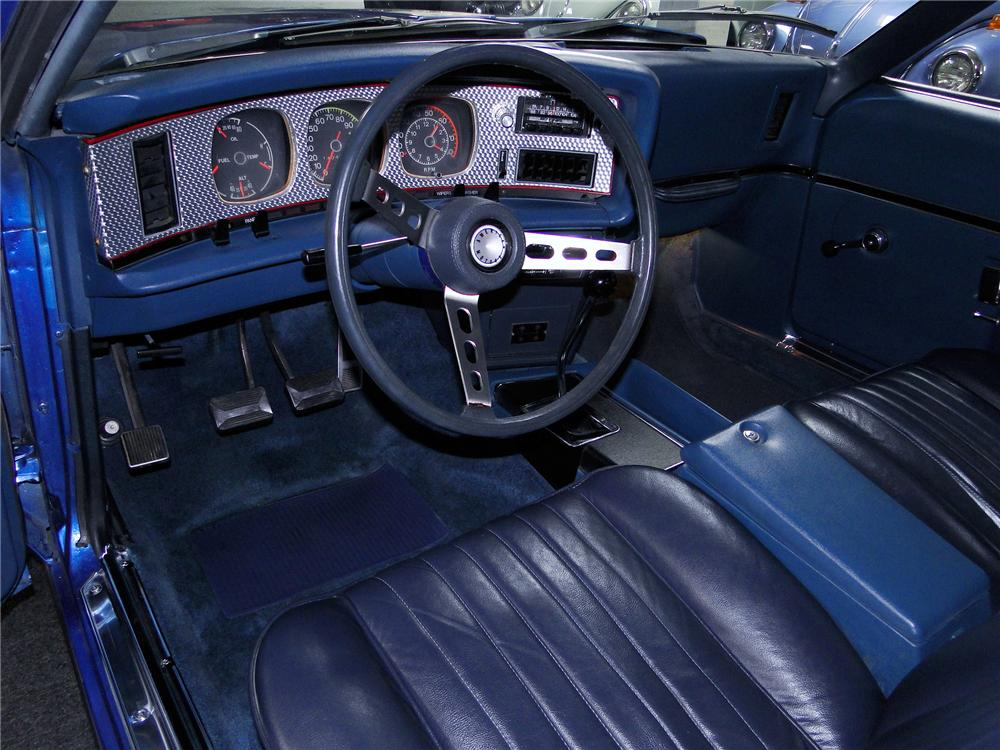 1971 AMERICAN MOTORS AMX 2 DOOR COUPE - Interior - 112822