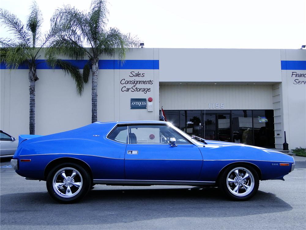 1971 AMERICAN MOTORS AMX 2 DOOR COUPE - Side Profile - 112822