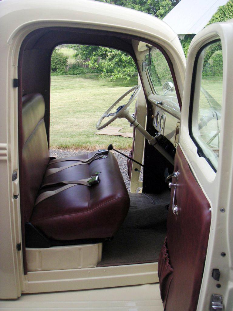 1938 FORD CUSTOM FLATBED WOODY TRUCK - Interior - 112825