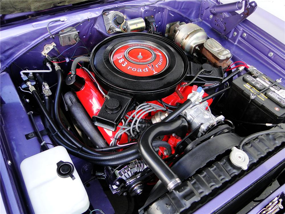 1970 PLYMOUTH ROAD RUNNER CONVERTIBLE - Engine - 112828