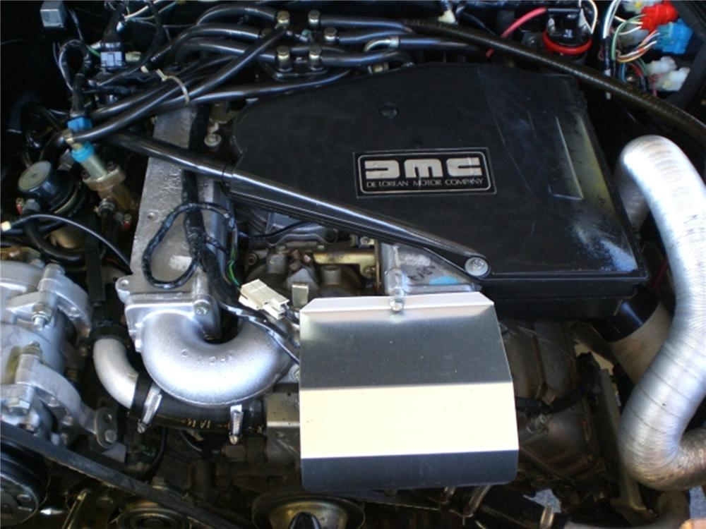 1982 DELOREAN DMC-12 GULLWING - Engine - 112831