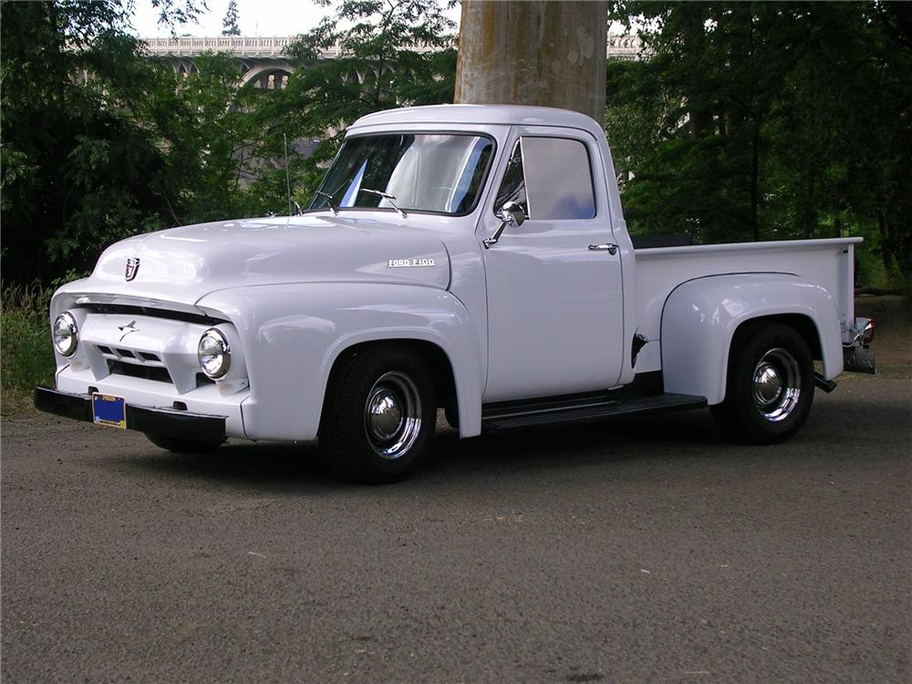 1954 FORD F-100 PICKUP - Side Profile - 112840