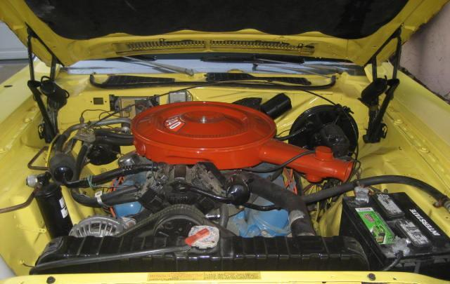 1973 DODGE CHALLENGER 2 DOOR HARDTOP - Engine - 112841