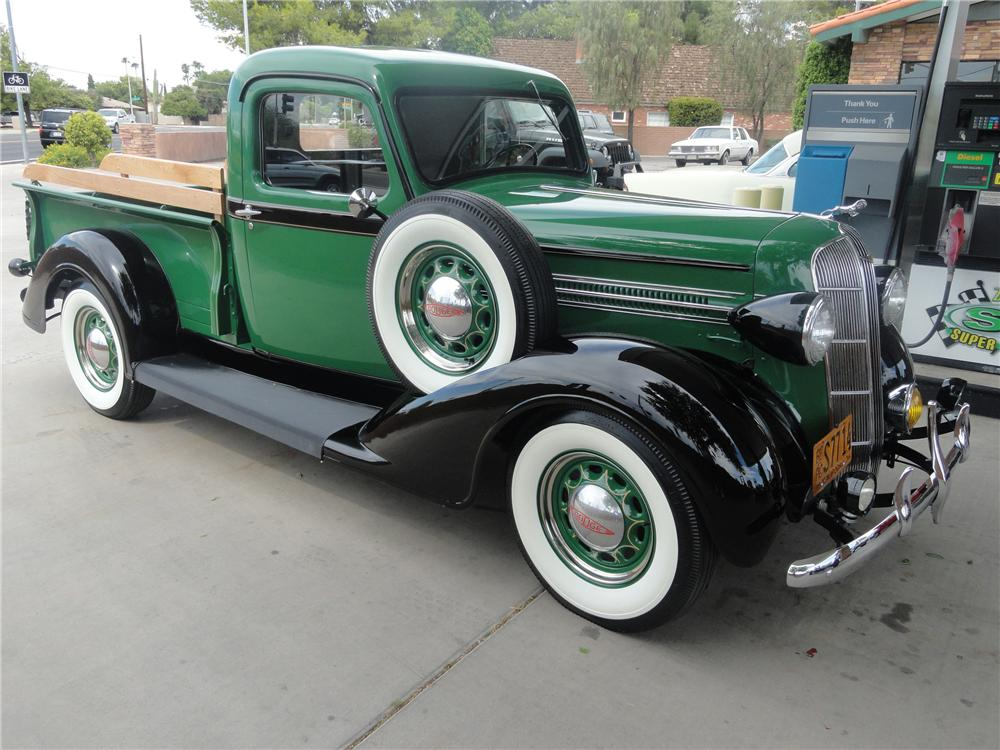 1936 DODGE PICKUP - Side Profile - 112845