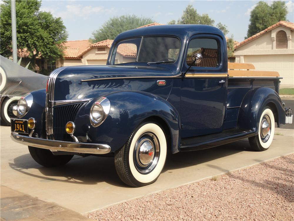 1941 FORD F-1 PICKUP - Front 3/4 - 112847