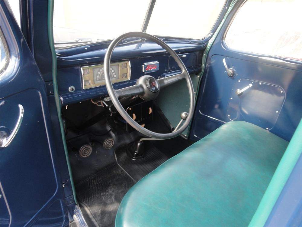 1941 FORD F-1 PICKUP - Interior - 112847