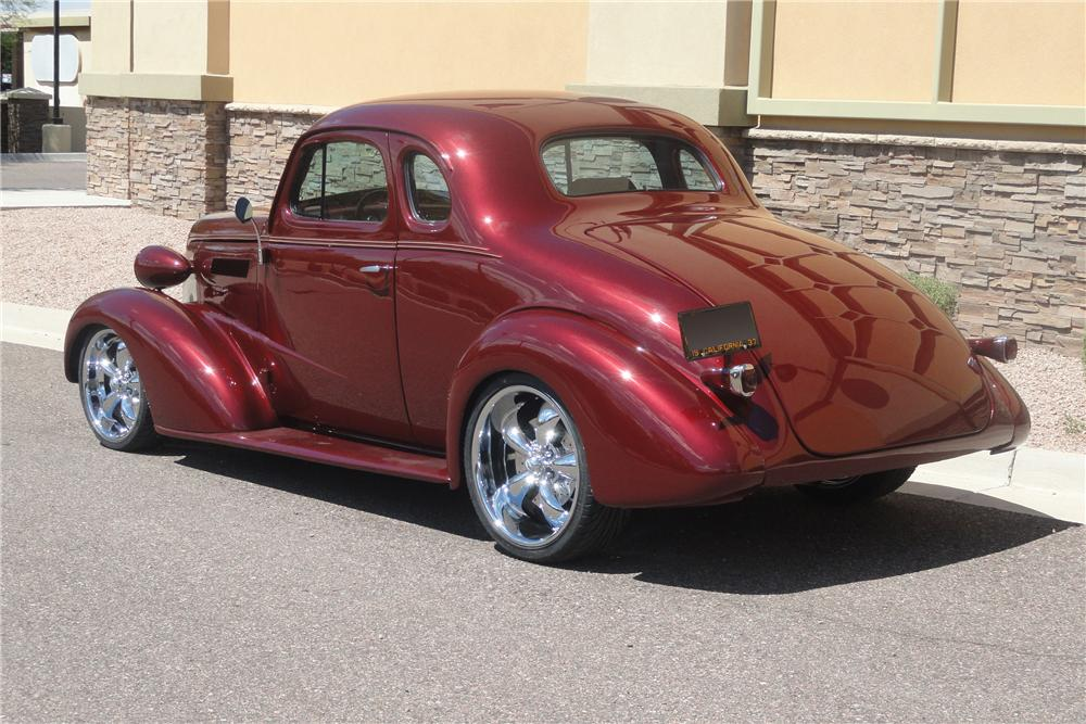 1937 chevrolet 5 window custom coupe 112855