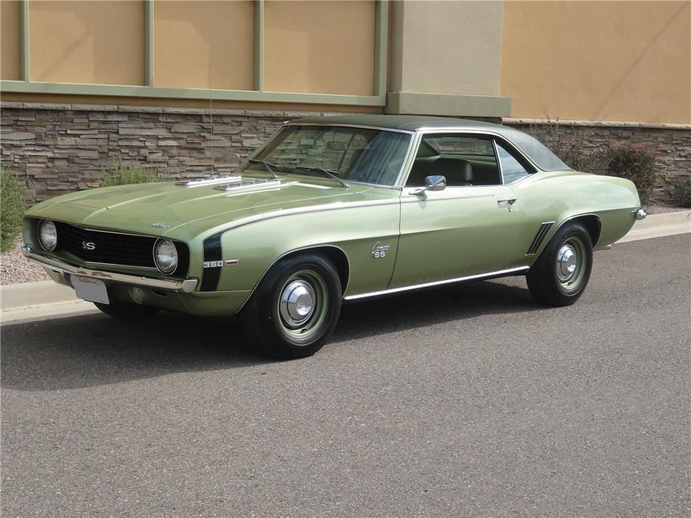 1969 chevrolet camaro ss 2 door coupe 112856. Black Bedroom Furniture Sets. Home Design Ideas